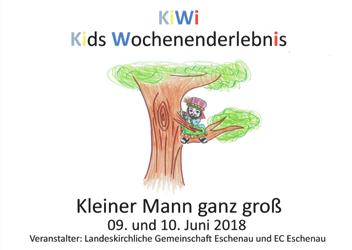 Einladung zum Kids Wochenenderlebnis (KiWi) am 9. und 10. Juni
